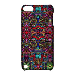 Color Maze Of Minds Apple Ipod Touch 5 Hardshell Case With Stand