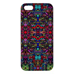 Color Maze Of Minds Apple Iphone 5 Premium Hardshell Case