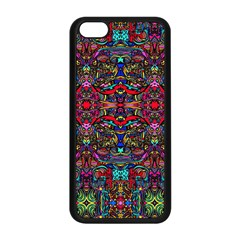 Color Maze Of Minds Apple Iphone 5c Seamless Case (black)