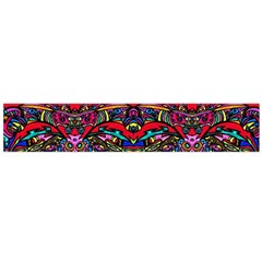 Color Maze Of Minds Large Flano Scarf