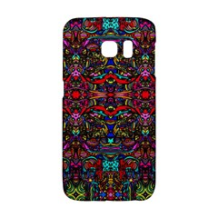 Color Maze Of Minds Samsung Galaxy S6 Edge Hardshell Case by MRTACPANS