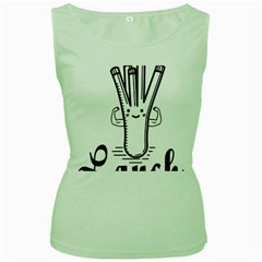 Lauch Bodybuilding Fitness Powerlifting Weighlifting Women s Green Tank Top by powerliftingcheck