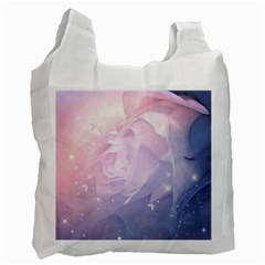 Wonderful Roses In Soft Colors Recycle Bag (one Side) by FantasyWorld7