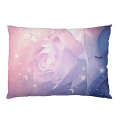Wonderful Roses In Soft Colors Pillow Case (two Sides) by FantasyWorld7