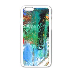 Garden  3 Apple Iphone 6/6s White Enamel Case