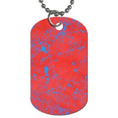 Blue Blood Dog Tag (two Sides) by WILLBIRDWELL