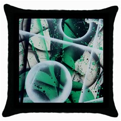 Insight Throw Pillow Case (black)