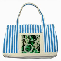 Insight Striped Blue Tote Bag