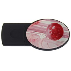Red Dwarf Usb Flash Drive Oval (2 Gb) by WILLBIRDWELL