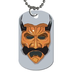 Mask India South Culture Dog Tag (one Side)