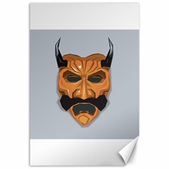 Mask India South Culture Canvas 24  X 36