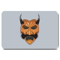 Mask India South Culture Large Doormat