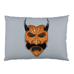 Mask India South Culture Pillow Case by Samandel
