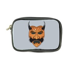 Mask India South Culture Coin Purse by Samandel