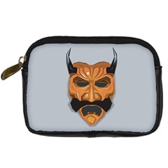 Mask India South Culture Digital Camera Leather Case