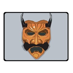 Mask India South Culture Fleece Blanket (small)