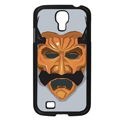 Mask India South Culture Samsung Galaxy S4 I9500/ I9505 Case (black) by Samandel