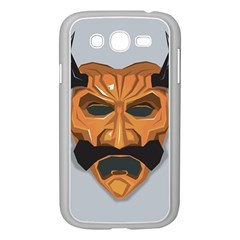 Mask India South Culture Samsung Galaxy Grand Duos I9082 Case (white) by Samandel