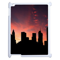 Skyline Panoramic City Architecture Apple Ipad 2 Case (white)
