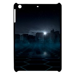 Skyline Night Star Sky Moon Sickle Apple Ipad Mini Hardshell Case