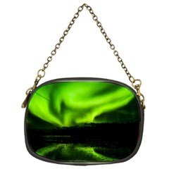 Aurora Borealis Northern Lights Sky Chain Purse (one Side)
