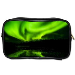 Aurora Borealis Northern Lights Sky Toiletries Bag (two Sides)