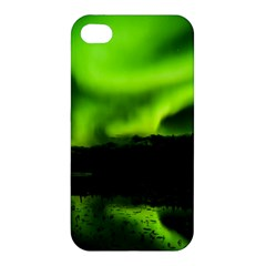 Aurora Borealis Northern Lights Sky Apple Iphone 4/4s Premium Hardshell Case