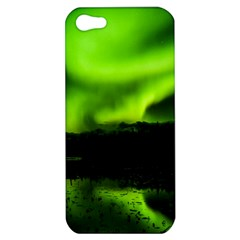 Aurora Borealis Northern Lights Sky Apple Iphone 5 Hardshell Case by Samandel