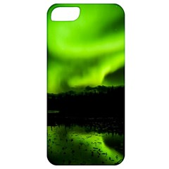 Aurora Borealis Northern Lights Sky Apple Iphone 5 Classic Hardshell Case by Samandel
