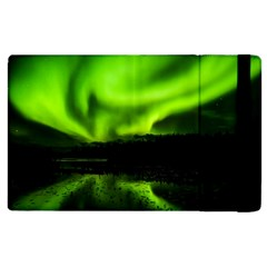 Aurora Borealis Northern Lights Sky Apple Ipad 2 Flip Case