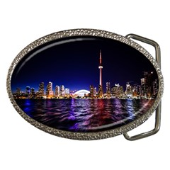 Toronto City Cn Tower Skydome Belt Buckles