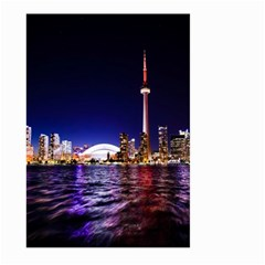Toronto City Cn Tower Skydome Large Garden Flag (two Sides)