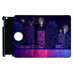 Architecture Home Skyscraper Apple Ipad 2 Flip 360 Case by Samandel