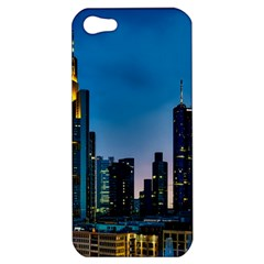 Frankfurt Germany Panorama City Apple Iphone 5 Hardshell Case