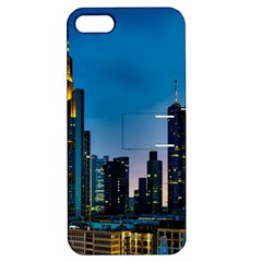 Frankfurt Germany Panorama City Apple Iphone 5 Hardshell Case With Stand