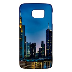 Frankfurt Germany Panorama City Samsung Galaxy S6 Hardshell Case