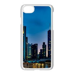 Frankfurt Germany Panorama City Apple Iphone 7 Seamless Case (white) by Samandel