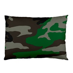 Army Green Camouflage Pillow Case (two Sides)