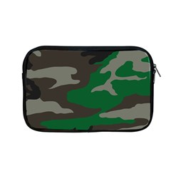 Army Green Camouflage Apple Macbook Pro 13  Zipper Case