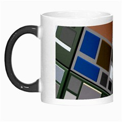 Abstract Composition Morph Mugs