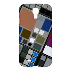 Abstract Composition Samsung Galaxy S4 I9500/i9505 Hardshell Case by Samandel