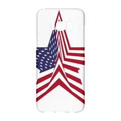 A Star With An American Flag Pattern Samsung Galaxy S8 Hardshell Case