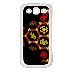Algorithmic Drawings Samsung Galaxy S3 Back Case (white)