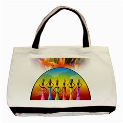 African American Women Basic Tote Bag (two Sides) by AlteredStates