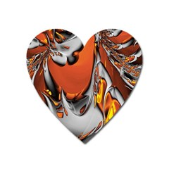 Special Fractal 24 Terra Heart Magnet by ImpressiveMoments