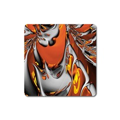 Special Fractal 24 Terra Square Magnet by ImpressiveMoments