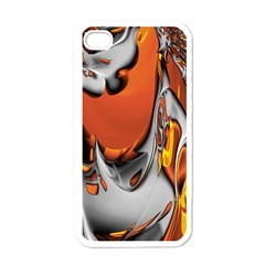 Special Fractal 24 Terra Apple Iphone 4 Case (white) by ImpressiveMoments