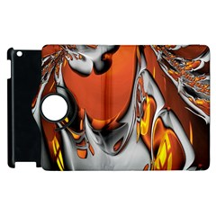 Special Fractal 24 Terra Apple Ipad 3/4 Flip 360 Case by ImpressiveMoments
