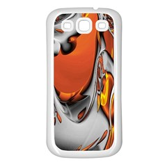 Special Fractal 24 Terra Samsung Galaxy S3 Back Case (white) by ImpressiveMoments