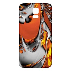 Special Fractal 24 Terra Samsung Galaxy S5 Back Case (white) by ImpressiveMoments